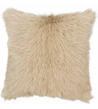 Coussin décoratifs fourrure – 40*40 cm – Beige
