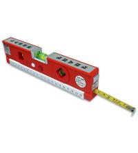 Laser Level Pro 4 Ruban à mesurer Outil de mesure vertical horizontal de 4,92 pieds / 1,5 m