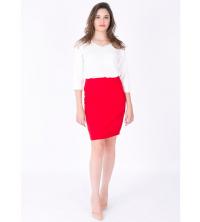 jupe femme Rouge