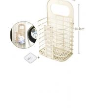Paniers à Linge Et Vêtements Souillés - En Plastique - 27 X 46.5 Cm - Beige