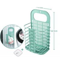 Paniers à Linge Et Vêtements Souillés - En Plastique - 27 X 46.5 Cm - turquoise
