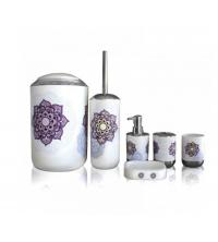 Bathlux Ensemble d'accessoires de salle de bain - 6 Pièces