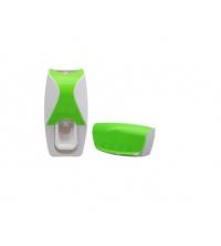 Distributeur - Dentifrice - Avec Support De 5 Brosses A Dents - Blanc - Vert
