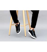 Baskets - Sportwear - Imperméable - Noir et Marron