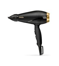 Sèche cheveux, moteur AC, 2000W, 1 concentrateur, noir & doré