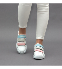 Sneakers Femme LC 2020 Multi-Couleur G - Simili Cuir- Scratch