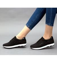 Running Sneakers LC 8002 Noir - Textile - Nubuck - Simili-Cuir Vernis