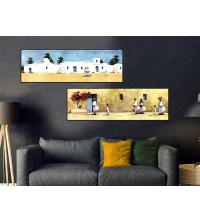 Tableau Décoratif - Djerba Déco1 - 2 x 30 x 100 cm