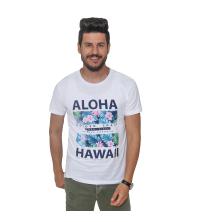 T-Shirt Imprimé- blanc