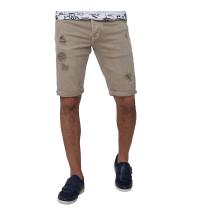 Bermuda Jeans-beige