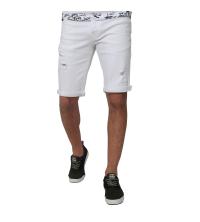 Bermuda Jeans- blanc