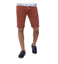 Bermuda Jeans-rouille