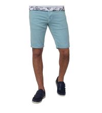 Bermuda Jeans- vert d'eau