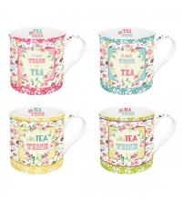 Set 4 mugs