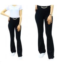 Pantalon large femme - Noir