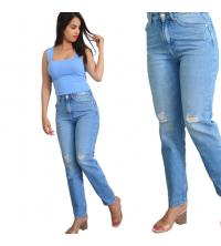 Pantalon jean dechiré