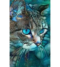 Tableau décoratif chat - 100 x 60 cm